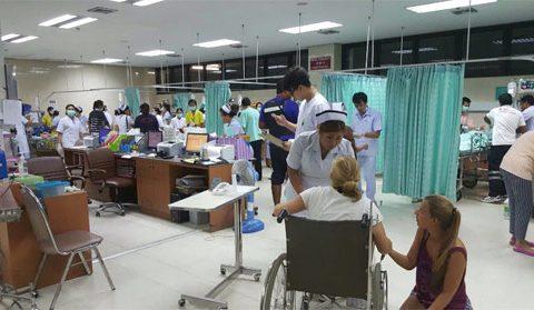 Đánh bom kép ở khu nghỉ mát nổi tiếng của Thái Lan, 24 người thương vong