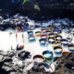 Đảo Lý Sơn: Ngắm san hô ở đảo Bé bằng thuyền thúng xinh đẹp