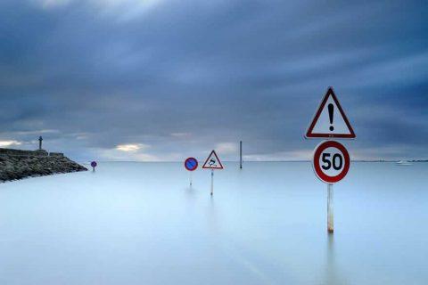 """Passage du Gois (Pháp): Con đường chỉ """"nổi"""" 2 lần trong ngày"""