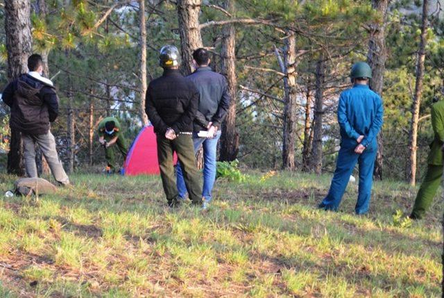 Phát hiện phượt thủ tử vong trong lều trên đỉnh núi ở Đà Lạt