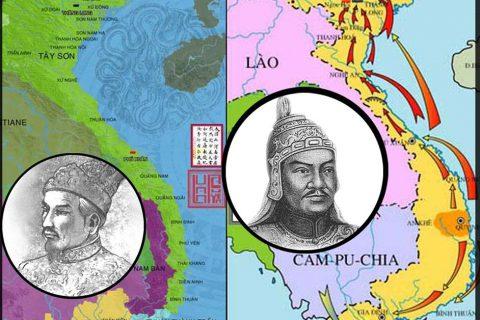 """2 """"siêu phượt thủ"""" đất Việt: Nguyễn Huệ – Nguyễn Ánh"""