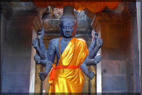 Những vị vua huyền thoại của vương triều Angkor