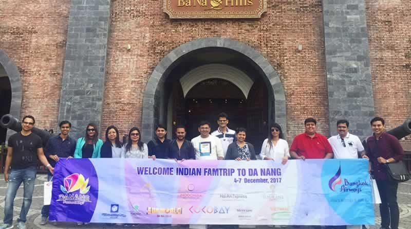 Đoàn Famtrip Ấn Độ khảo sát du lịch Đà Nẵng
