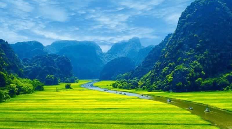 """Tuần du lịch Ninh Bình 2018 """"Sắc vàng Tam Cốc – Tràng An"""""""