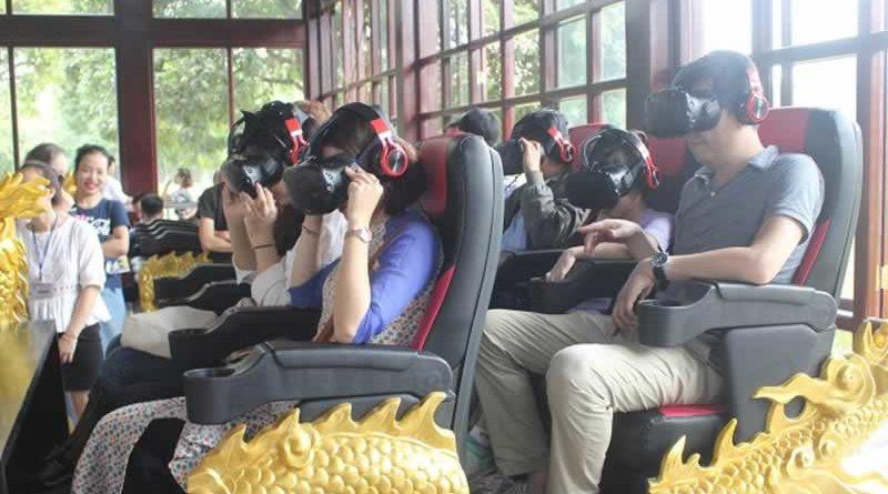 Khám phá Hoàng cung Huế bằng công nghệ VR