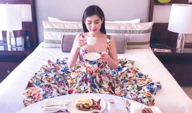 Cuộc sống sang chảnh của tiểu thư nổi danh Instagram Hội con nhà giàu Việt