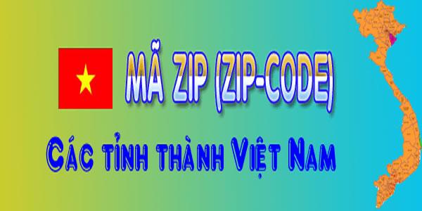 Mã bưu chính (Zipcode) 63 tỉnh thành Việt Nam